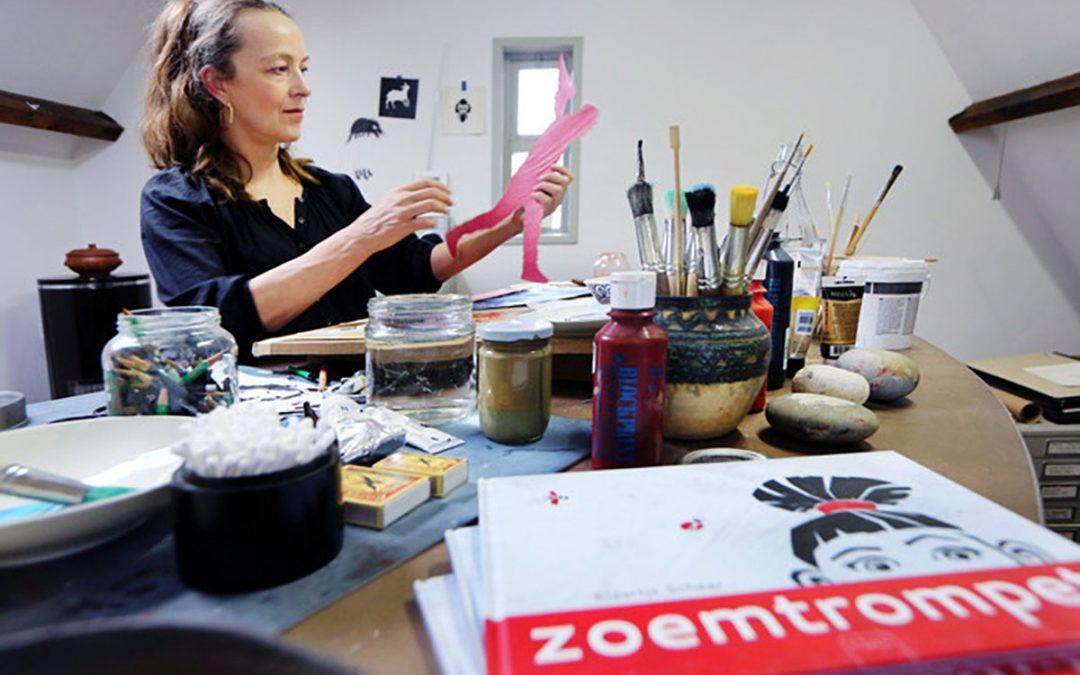Bredase illustrator Klaartje Scheer brengt kinderboek uit